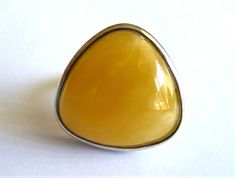 Baltic Amber Butterscotch Ring - I need some Amber HEALING Power ;) Yellow Rings, 2014 Trends, Healing Power, Amber Ring, Baltic Amber, Tucson, Jewelry Trends, Fitness Fashion, Minerals