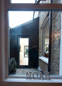 Dulwich Extension   Creating a little courtyard to preserve the light in the existing rooms