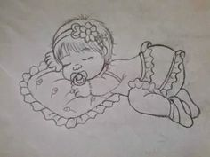 Tatitando Arte: Riscos para pintura em fralda de meninas