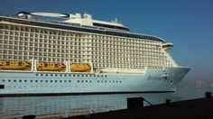 Royal Caribbean's Anthem of the Seas arrives in Southampton