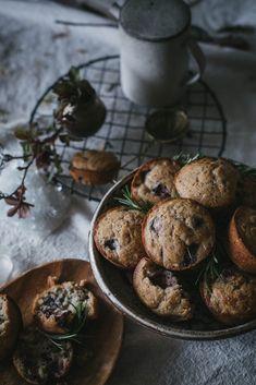 Local Milk |rosemary strawberry buttermilk muffins