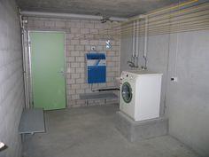 washing basement