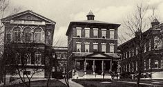 The old Jewish Hospital of St. Louis on Delmar. The hospital had been a vital force in caring for the community and furthering medical science beginning in 1902. It moved to a new location off Kingshighway near Barnes Hospital in 1927.
