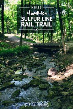 IveBeenBit.ca :: Hiking Hamilton's Dundas Valley. Sulfur Line Rail Trail | Hike, Trails, Ontario, Canada, Outdoor Adventure | #travel #hiking #Canada #Ontario #Hamilton #Ha mint