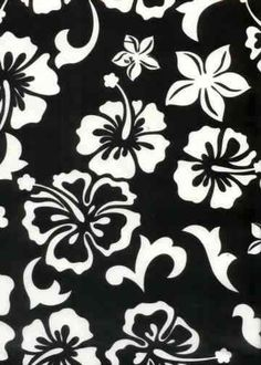 10kihi Tropical Hawaiian Hawaiian hibiscus flowers on a light miro fiber - black background.Add Discount code: (Pin10) in comment box at check out for 10% off sub total at BarkclothHawaii.com