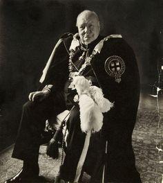 Toni Frissell, Winston Churchill in Coronation Robes, circa 1953