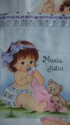 Tolha/fralda/molde... Baby Drawing, Drawing For Kids, Art For Kids, Baby Art Crafts, Brother Innovis, Baby Applique, Country Paintings, Color Pencil Art, Baby Portraits