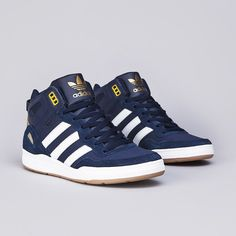 Adidas Artillery AS Mid Collegiate Navy   Running White   Metallic Gold 2290282fb7bf