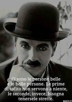 Badass Quotes, Best Quotes, Soul Quotes, Life Quotes, Beatiful People, Italian People, Foto Instagram, Charlie Chaplin, Silent Film