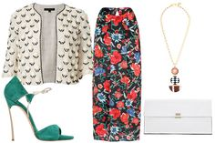 """What To Wear To Every Fall Wedding #refinery29 - so """"My"""" style!!!  This outfit is great for so much more than weddings!!"""