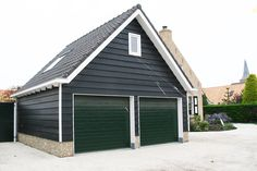 Houten garage | BoHa - Systeembouw B.V.