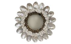 shell mirrors images | Abalone Shell Mirror - Mirrors & Wall Décor - Accessories | Jayson ...