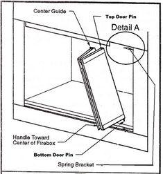 How To Remove Heatilator Fireplace Doors - Heatilator Fireplace Doors Prefab Fireplace, Fireplace Grate, Fireplace Doors, Brick Fireplace Makeover, Old Fireplace, Fireplace Screens, Modern Fireplace, Fireplace Design, Zero Clearance Fireplace