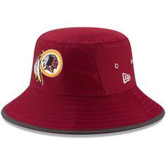 7adfd2bd9db1d Washington Redskins New Era Youth 2017 Training Camp Official Bucket Hat -  Burgundy https