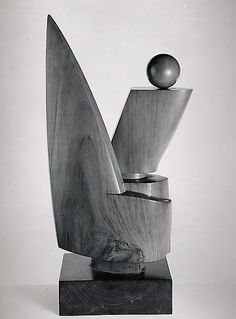 Jean-Gabriel Chauvin, The Sacred Flame, ca. 1929 - carved wood. /  The Metropolitan Museum of Art