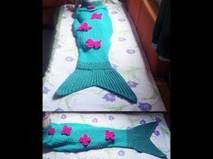 Cauda de Sereia em Croche / Crochet Mermaid Tail - YouTube