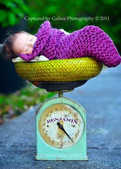 LOvin' the photo along with the pops of purple, lime green and turquoise - beautiful!