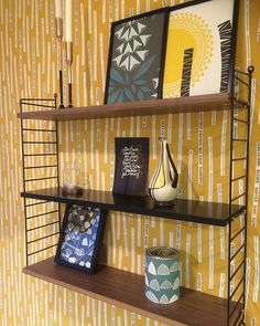 Inspiration - Midbec Tapeter Home Again, Garden Office, Colorful Garden, Bold Prints, Beautiful Homes, Mid-century Modern, Mid Century, Wallpaper, Offices