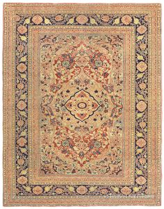 A guide to the art and history of antique Hadji Jallili (Haji Jalili) Tabriz Persian carpets and rugs from Claremont Rug Company Persian Carpet, Persian Rug, Asian Rugs, Homemade Home Decor, Tabriz Rug, Rug Company, Oriental Rugs, Room Colors, Contemporary Interior