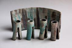 Mid Century Dutch Modernist Art Pottery Studio by 1001vintage