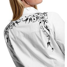 Roper Old West Collection Victorian Bracket Western Shirt (For Women) - Save 46%