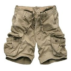 Club Room Mens Shorts Cotton Beige Khaki Button back pocket waist ...