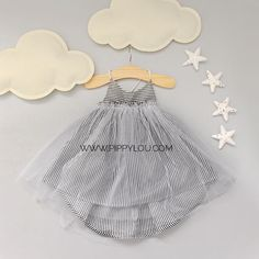 Pin-Striped Tutu Great site for girls clothes