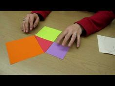 Exploring Pythagorean Theorem in Geometry Class Through Cut & Paste, Folding, and Doodling! Geometry Lessons, Teaching Geometry, Geometry Activities, Math Lessons, Teaching Activities, Classroom Activities, Teaching Math, Math 8, Guided Math