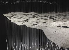 Wave Garden by Yusuke Obuchi. It is a prototype for a dual-function power plant and public park, oscillating with the ocean waves and cycles of energy demand. Shadow Art, Museum, Land Art, Sculpture, Ocean Waves, Installation Art, Art Installations, Landscape Architecture, Art Photography