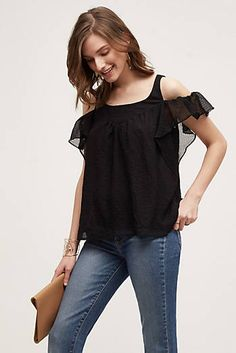 efe38e40485cfc Nava Off-The-Shoulder Top -- so