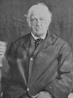 A photograph of Lemuel Cook (1759–1866), the last official veteran of the American Revolutionary War who enlisted in the 2nd Continental Light Dragoons, Continental Army.