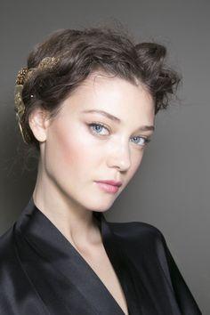 Dolce & Gabbana - Milan Spring 2014 - backstage hair and make-up