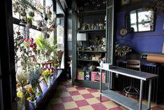 sycamore cafe in brooklyn | gardenista www.stemsbrooklyn.com #stemsbrooklyn