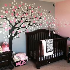 baby+nursery+ideas | Modern Baby Nursery Decorating Ideas...love that tree