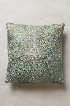 Crocheted Bihari Pillow - anthropologie.com