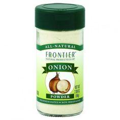 Frontier Herb Onion - Powder - White - 2.08 Oz