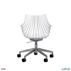The diamond inspired chair Meridiana from Driade also comes in a version with castors.  . . . . . #design #designs #designer #designers #interiorstyling #interiorinspiration #interiordesign #qualityliving #homedecor #home #inspiration #interiorinspiration #designinspiration #productinspiration #art #findyourinnerexpression #LAFLO #instadesign #instagood #instadaily #driade