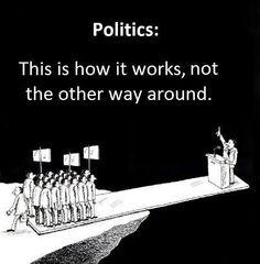 Politics how it should be.