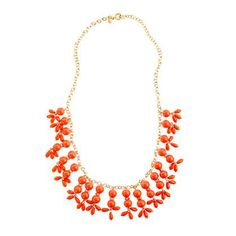 J.Crew teardrop necklace