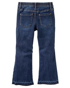 Stretch Flare Jeans - Marine BlueStretch Flare Jeans - Marine Blue, Color
