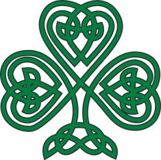 Patrick used the shamrock to symbolize the Christian trinity, and that may be true, but long before St. Description from healitall.com. I searched for this on bing.com/images