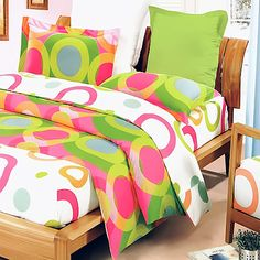 Blancho Bedding - [Rhythm of Colors] Cotton MEGA Comforter Cover/Duvet Cover Combo (Queen Size) Full Duvet Cover, Comforter Cover, Bed Duvet Covers, Duvet Bedding, Comforter Sets, Duvet Cover Sets, Pillow Shams, King Comforter, Baby Bedding