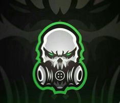 ICON 7 Zombie Logo, Logo Esport, Logo Desing, Sports Team Logos, Esports Logo, Mascot Design, Gaming Wallpapers, Game Logo, Logo Sticker