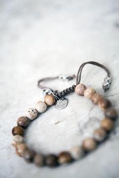 Yoga armband Aum Bildjaspis - från Soul of Maïa