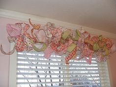 Curly valance.  Absolutely precious for a little girl's room!