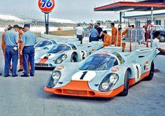 Daytona 1970 - Porsche 917 Gulf Team