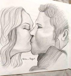 Never gonna get over them ♡ Never Gonna, Get Over It, Vampire Diaries, Fanart, Sketch, Sketch Drawing, The Vampire Diaries, Fan Art, Sketching