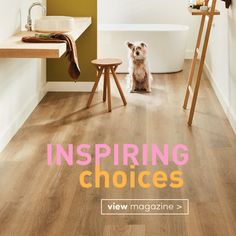 In this issue of Inspiring Choices, we'll be exploring some of the latest flooring and window furnishing innovations and new and exciting technologies to make your interior visions come to life. Whether it's through the use of mood boards or our digital in-store experience, we'll discuss all the tools you'll need to realise your design goals.
