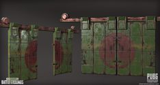 ArtStation - PLAYERUNKNOWN'S BATTLEGROUNDS - Asset Creation , Raquel Garcia