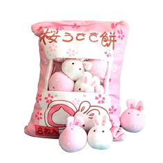 Cute Plush Throw Pillow - rabbit